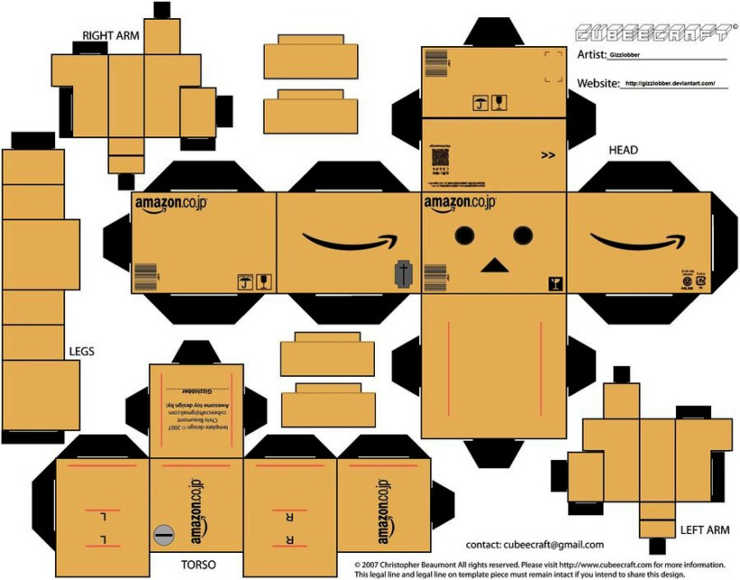danbo_amazon_cubeecraft_by_gizzlobber-d3canaw-1