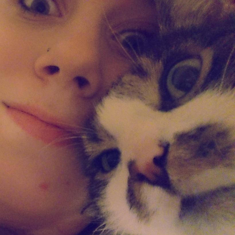 Ein kleines PmdD Selfie mit Katerchen :)
