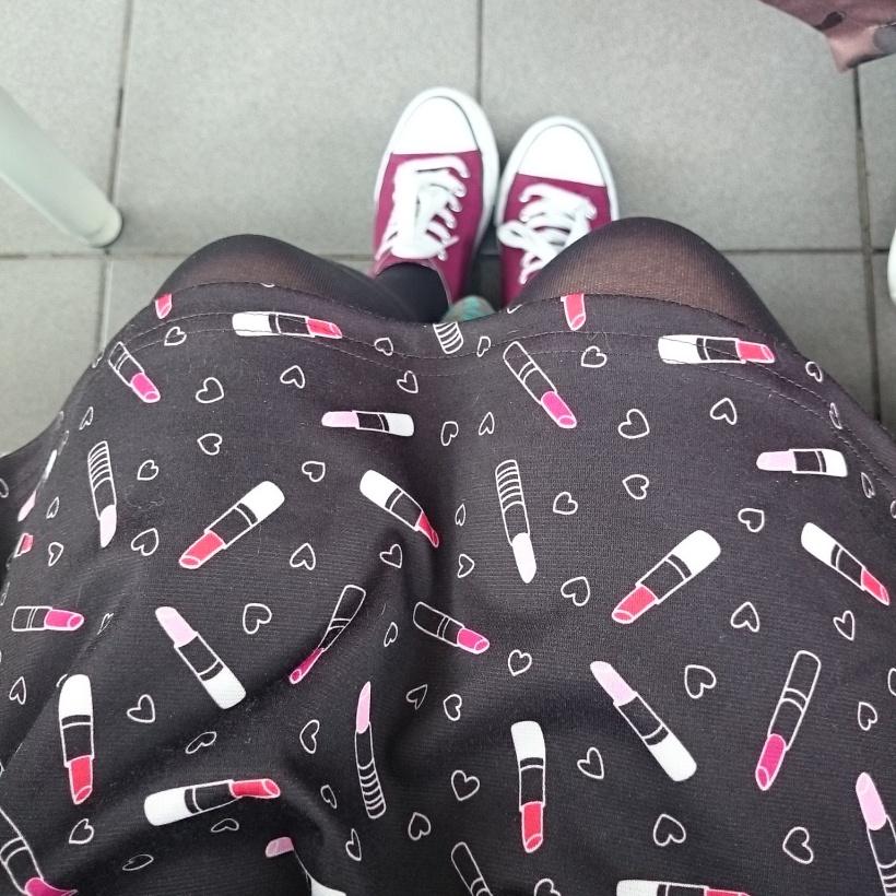 Hab zum ersten Mal mein neues Kleid getragen :)