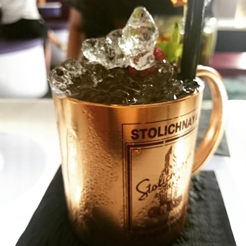 In unserer neu entdeckten Bar bestellte ich einen Mint Julup und bekam das: Die Tasse war einfach genial und er war echt lecker :)