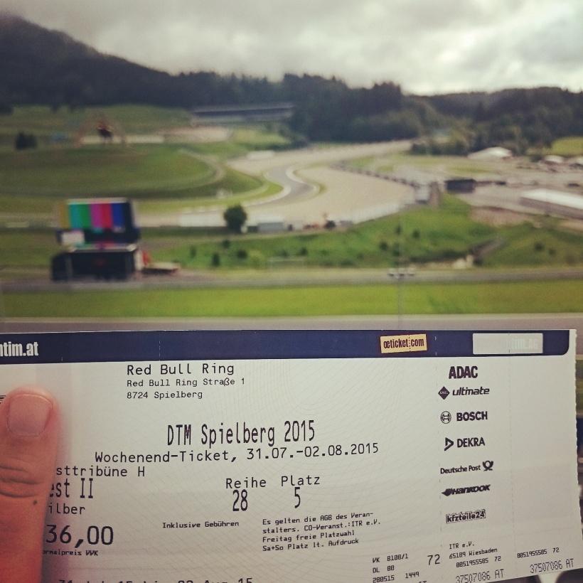 Das Wochenende stand bei uns ganz im Zeichen der DTM. Tag 1 & 2 verbrachte ich mit Papa am Red Bull Ring in Spielberg :)