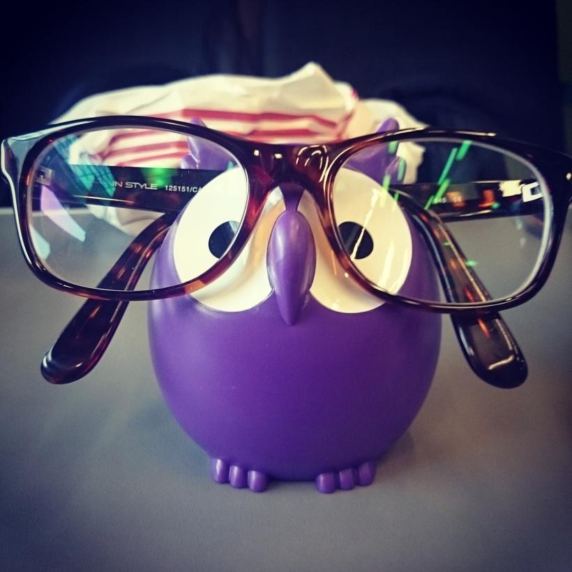 Von Pylones (am Hauptbahnhof) hab ich mir diesen süßen Brillenhalter mitgenommen. Ich bin wieder mal verliebt <3