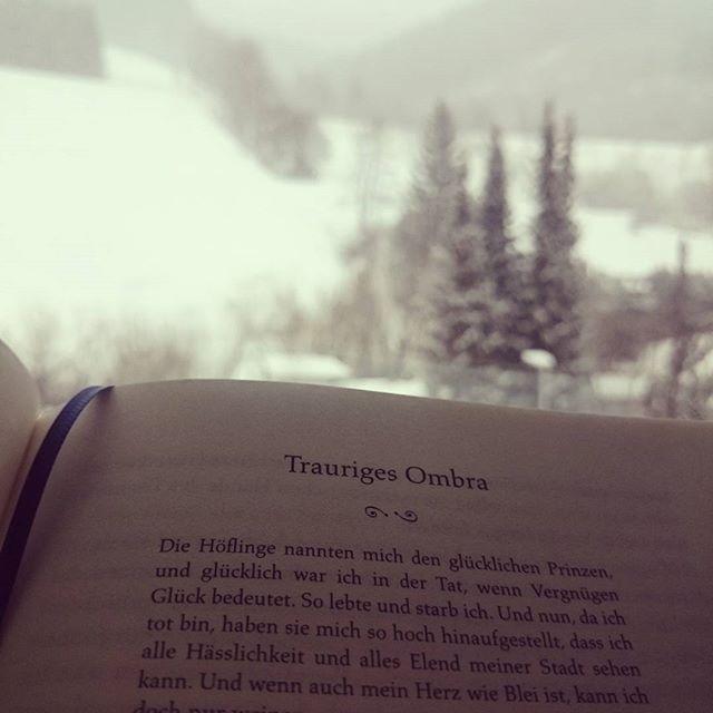 Bei Schneefall beim Heizkörper lesen!