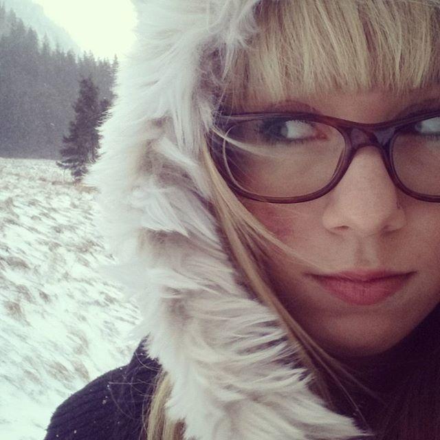 Da ist Schnee o.O